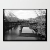 Absent Canvas Print