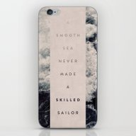 A Smooth Sea Never Made … iPhone & iPod Skin