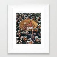 Thanksgiving Eve Framed Art Print
