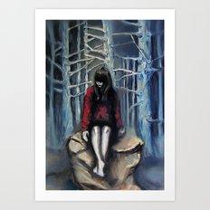 Girl #3 Art Print