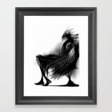Cool Sketch 91 Framed Art Print