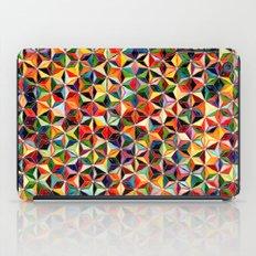 Star Cubes Geometric Art Print. iPad Case