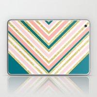 Modern Simple Chevron Pi… Laptop & iPad Skin