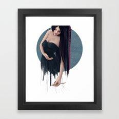 She Painted Her World Framed Art Print