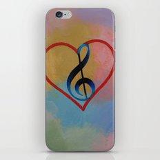 Music Note iPhone & iPod Skin
