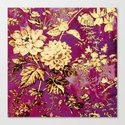 rich floral Canvas Print