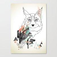 Lynx Canvas Print