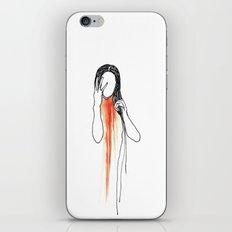 character I iPhone & iPod Skin