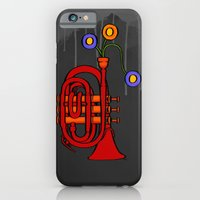 Happy to see my pocket trumpet iPhone 6 Slim Case