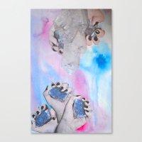 Crystalisis Canvas Print
