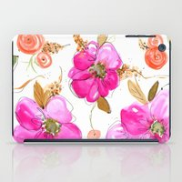 All-Pink Double Spring Floral iPad Case