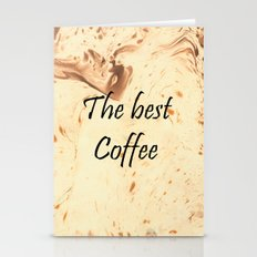 The Best Coffee Stationery Cards