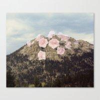 Rose Mountain Canvas Print