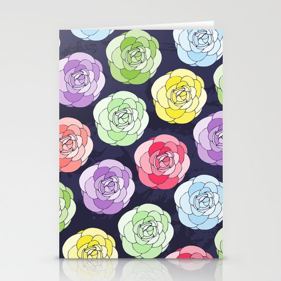 Candy Stationery Card