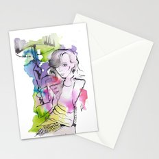 Class Actress Stationery Cards