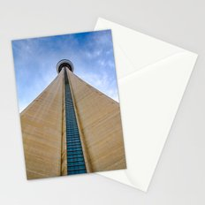 CN Tower up close Stationery Cards