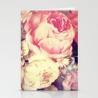 Vintage Flowers XXII - for iphone Stationery Cards