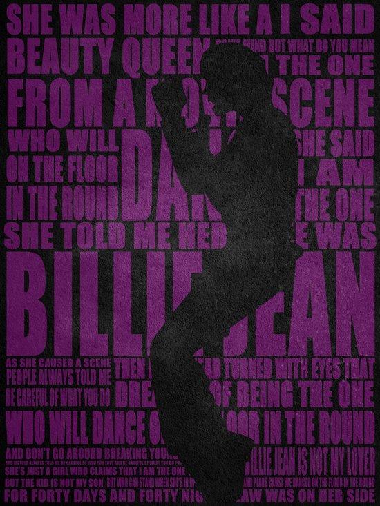 MJ Billie Jean Art Print