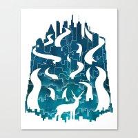Antelope Aeon Canvas Print