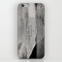 life is either a daring adventure ... or nothing iPhone & iPod Skin