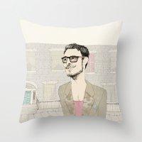 I´m hipster  Throw Pillow