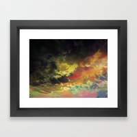 Deleting the Day Framed Art Print