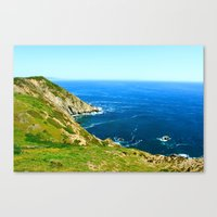 California Cove Canvas Print