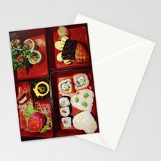 Cute Bento Stationery Cards