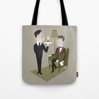 Jeeves & Wooster Tote Bag