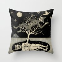 No Bad Deed Goes Unpunis… Throw Pillow