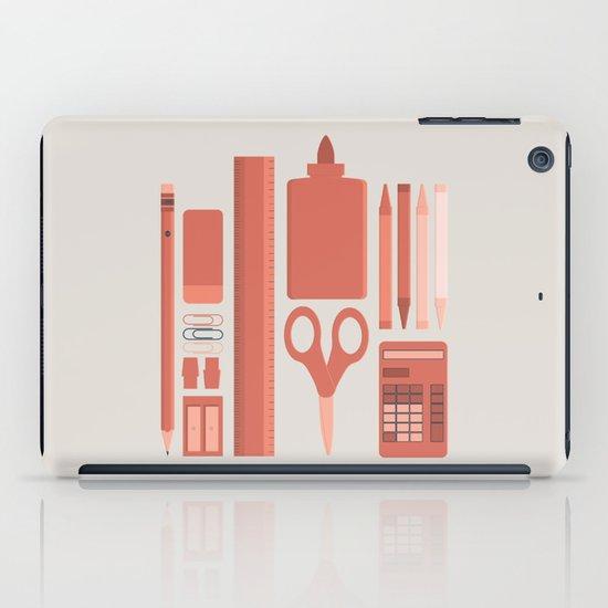 School House Monotone iPad Case