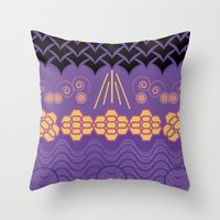 HARMONY Pattern Alt 3 Throw Pillow