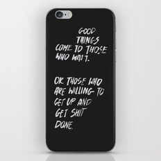 Good Things iPhone & iPod Skin