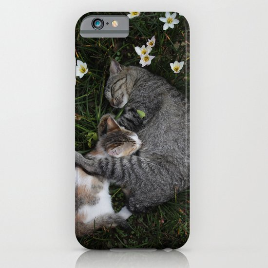 Sleep [A CAT AND A KITTEN] iPhone & iPod Case