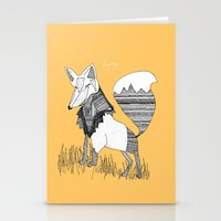 Feeling Foxy Stationery Cards