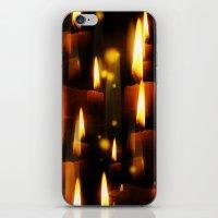 Lichterfest iPhone & iPod Skin
