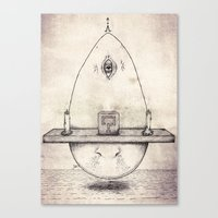 Tarot: I - The Magician Canvas Print