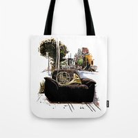 Chairs Of Montreal Tote Bag