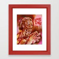 OLMOS LIVES!!! Framed Art Print