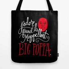 French Poppa Tote Bag