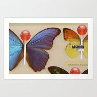 Fashion Fat Girls/2 Art Print