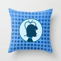 Sailor Mercury Throw Pillow