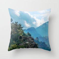 Nature's Temple Throw Pillow