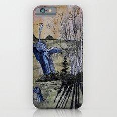 Blue Breaching Whale  iPhone 6s Slim Case