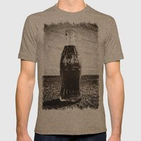 Glass Nostalgia Mens Fitted Tee Tri-Coffee SMALL