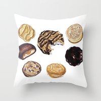 Girl Scout Cookies Throw Pillow