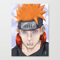 Almighty Push Canvas Print