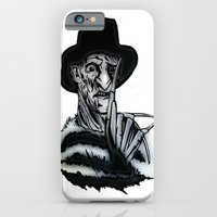iPhone Cases featuring FREDDY  by shannon's art space