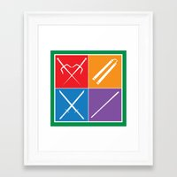 The Weapons Framed Art Print