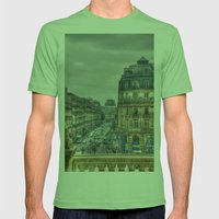 Paris Mens Fitted Tee Grass SMALL